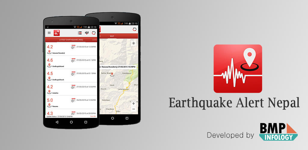 earthquake alert nepal